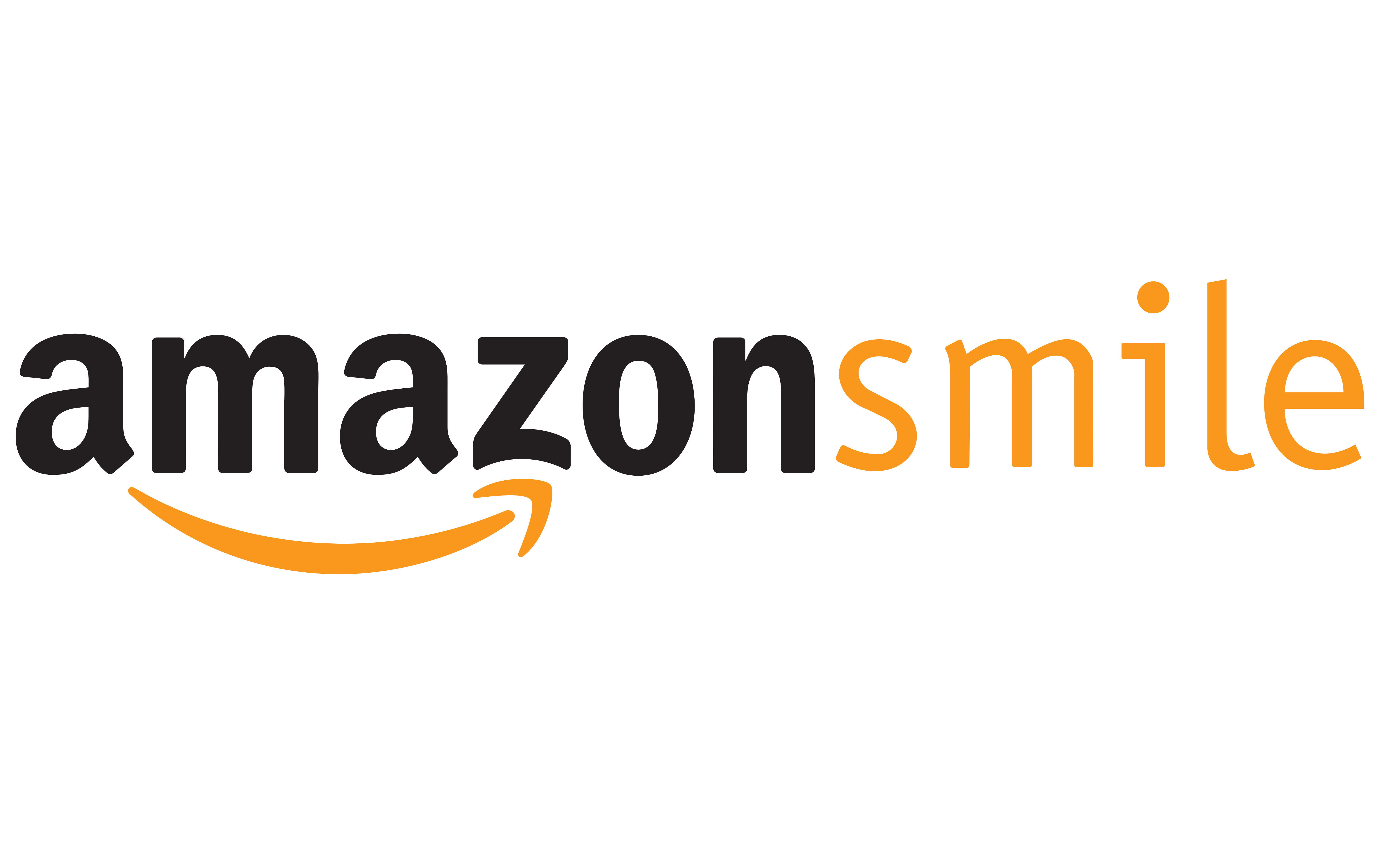 Amazon Smile logo x2